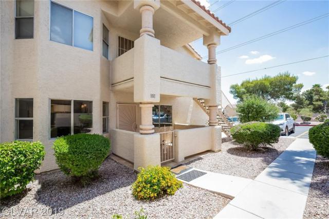 933 Sulphur Springs #101, Las Vegas, NV 89128 (MLS #2100612) :: Vestuto Realty Group