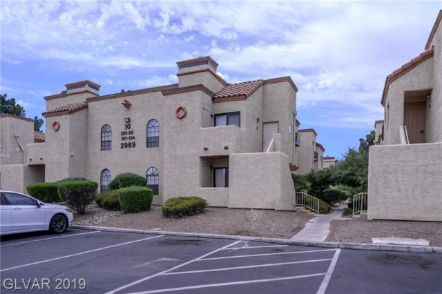 2969 Juniper Hills #101, Las Vegas, NV 89142 (MLS #2106141) :: The Snyder Group at Keller Williams Marketplace One