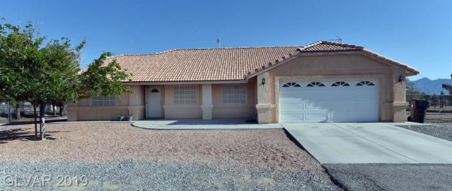 1831 E Falcon, Pahrump, NV 89048 (MLS #2106526) :: Trish Nash Team