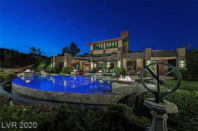 11 Golden Sunray Lane, Las Vegas, NV 89135 (MLS #2107634) :: Vestuto Realty Group