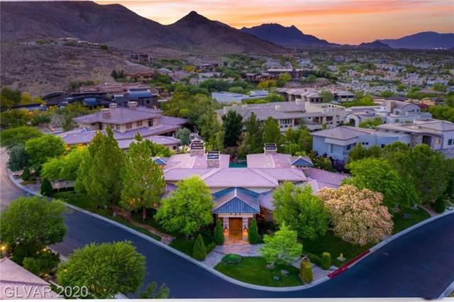 18 Misty Peaks, Las Vegas, NV 89135 (MLS #2108411) :: Signature Real Estate Group