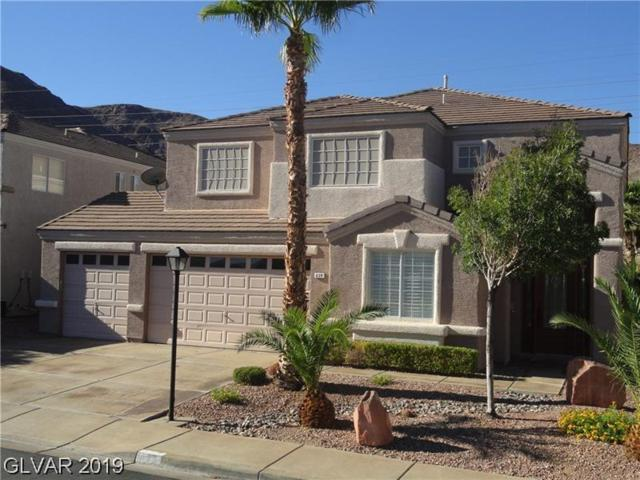 639 Backbone Mountain, Henderson, NV 89012 (MLS #2113388) :: Signature Real Estate Group