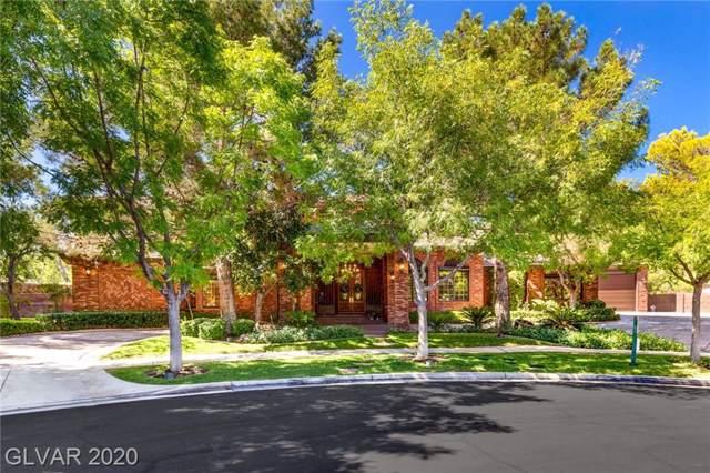 1801 White Hawk Court, Las Vegas, NV 89134 (MLS #2130140) :: Signature Real Estate Group
