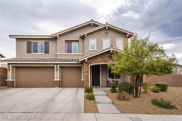 1105 Via Alloro, Henderson, NV 89011 (MLS #2135969) :: Vestuto Realty Group