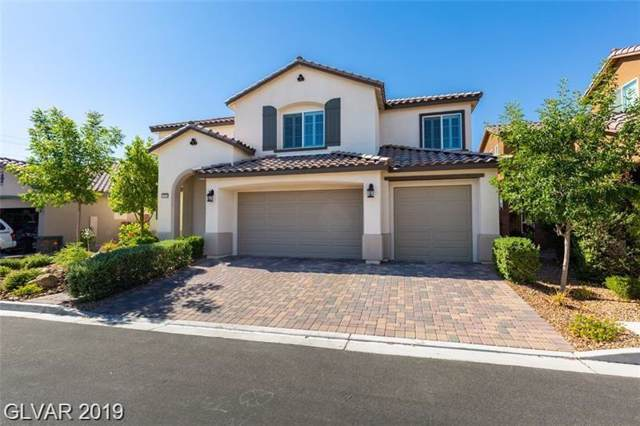10723 Hammett Park, Las Vegas, NV 89166 (MLS #2136292) :: Signature Real Estate Group