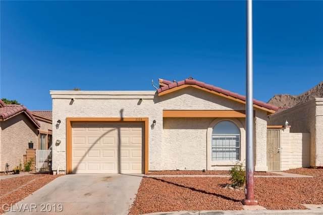 2254 Sierra Sunrise, Las Vegas, NV 89156 (MLS #2136368) :: Signature Real Estate Group