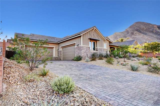 11181 Luna Blanca, Las Vegas, NV 89138 (MLS #2144176) :: The Snyder Group at Keller Williams Marketplace One