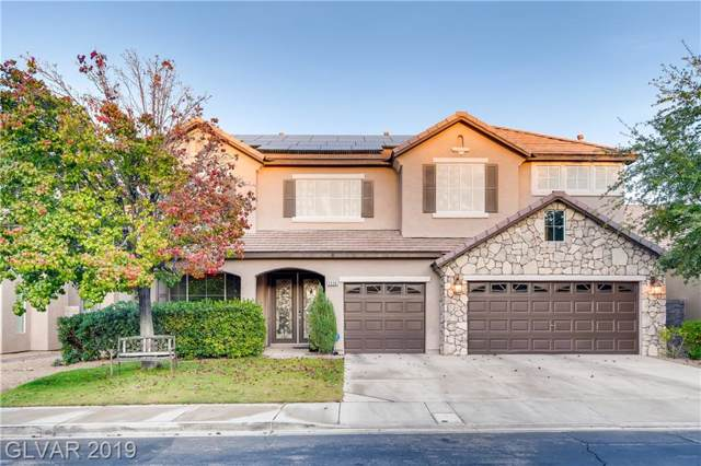 1336 Coulisse, Henderson, NV 89052 (MLS #2147204) :: Vestuto Realty Group
