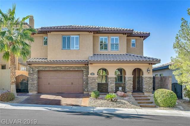 1083 Via Saint Lucia, Las Vegas, NV 89011 (MLS #2150665) :: Trish Nash Team