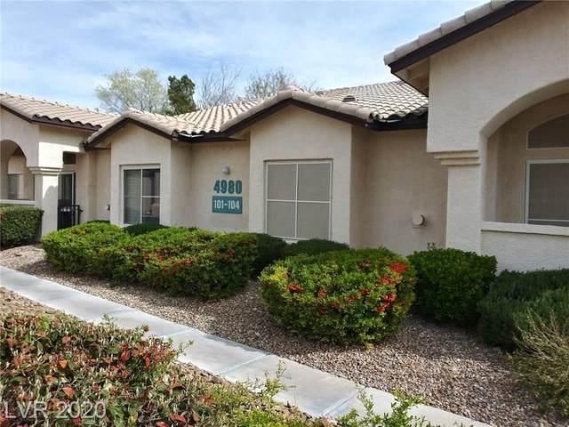 4980 Black Bear Road #104, Las Vegas, NV 89149 (MLS #2151078) :: The Lindstrom Group