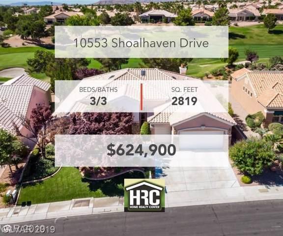 10553 Shoalhaven, Las Vegas, NV 89134 (MLS #2153527) :: Signature Real Estate Group