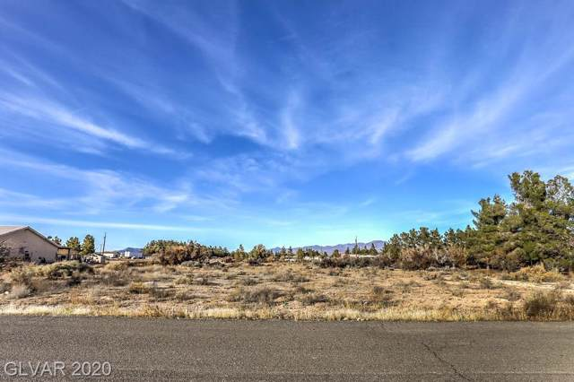 3100 E Navajo, Pahrump, NV 89060 (MLS #2156440) :: Trish Nash Team