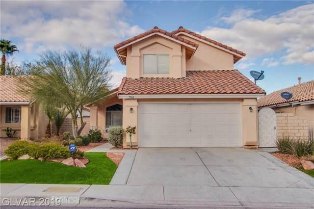 7760 Eagle Lake, Las Vegas, NV 89147 (MLS #2158237) :: Brantley Christianson Real Estate