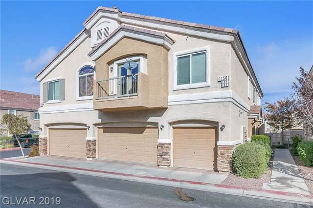 1150 Heavenly Harvest #101, Henderson, NV 89002 (MLS #2158462) :: Signature Real Estate Group