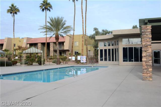 5001 River Glen #36, Las Vegas, NV 89103 (MLS #2158687) :: Performance Realty