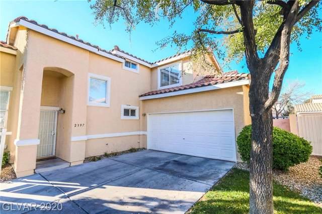 2397 Cliffwood Drive, Henderson, NV 89074 (MLS #2159883) :: Vestuto Realty Group