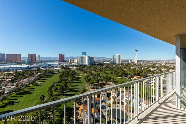 3111 Bel Air Drive 22C, Las Vegas, NV 89109 (MLS #2163055) :: Helen Riley Group | Simply Vegas