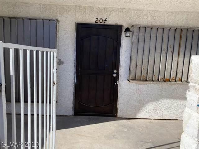 4300 Lamont #204, Las Vegas, NV 89115 (MLS #2164623) :: Hebert Group | Realty One Group