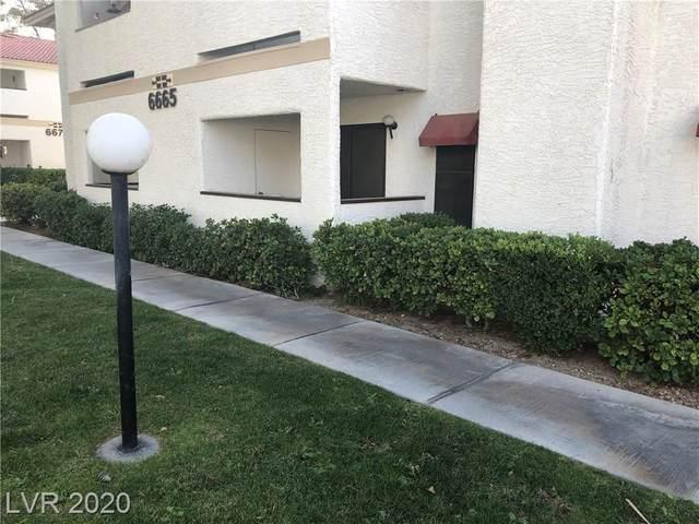 6665 Tropicana Avenue #102, Las Vegas, NV 89103 (MLS #2165209) :: Billy OKeefe   Berkshire Hathaway HomeServices