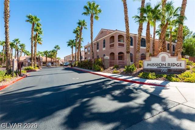 700 Carnegie #2311, Henderson, NV 89012 (MLS #2165292) :: Signature Real Estate Group