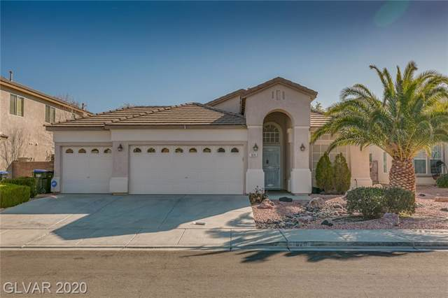1679 Clovercrest, Henderson, NV 89012 (MLS #2165600) :: Performance Realty