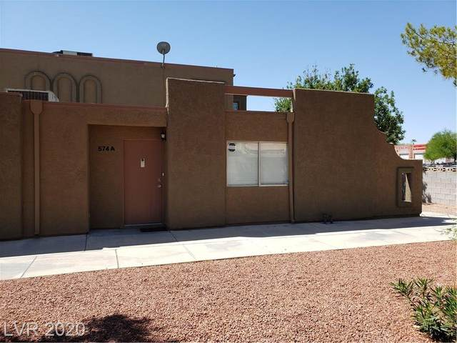 574 Roxella Lane A, Las Vegas, NV 89110 (MLS #2165627) :: Billy OKeefe | Berkshire Hathaway HomeServices