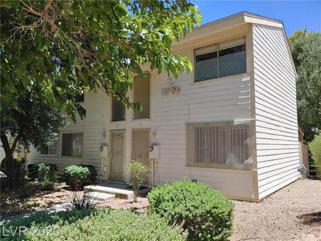 4770 Topaz Street #76, Las Vegas, NV 89121 (MLS #2166301) :: The Mark Wiley Group | Keller Williams Realty SW