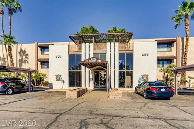 356 Desert Inn Road #224, Las Vegas, NV 89109 (MLS #2168200) :: Jeffrey Sabel