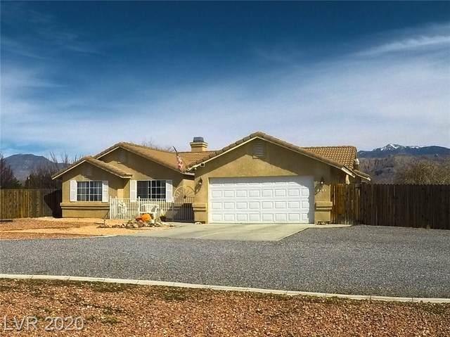3481 S Oakleaf, Pahrump, NV 89048 (MLS #2170940) :: Signature Real Estate Group
