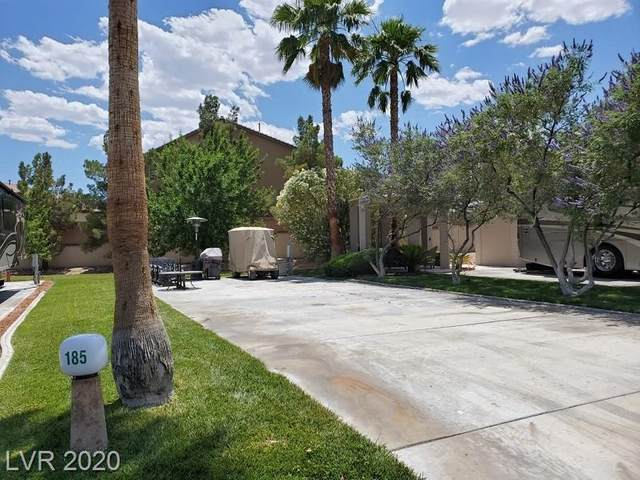 8175 Arville Street #185, Las Vegas, NV 89139 (MLS #2174912) :: Helen Riley Group | Simply Vegas