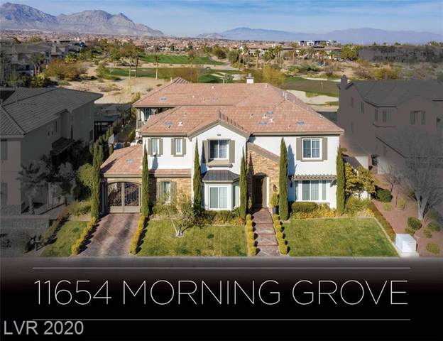 11654 Morning Grove Drive, Las Vegas, NV 89135 (MLS #2175561) :: Hebert Group   Realty One Group
