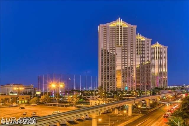 145 E Harmon Avenue #1604, Las Vegas, NV 89109 (MLS #2181193) :: Billy OKeefe | Berkshire Hathaway HomeServices