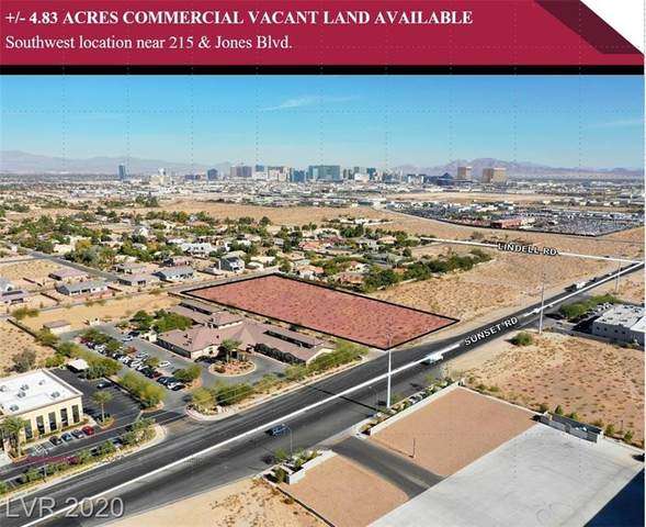 Sunset Rd, Las Vegas, NV 89118 (MLS #2183435) :: Billy OKeefe | Berkshire Hathaway HomeServices