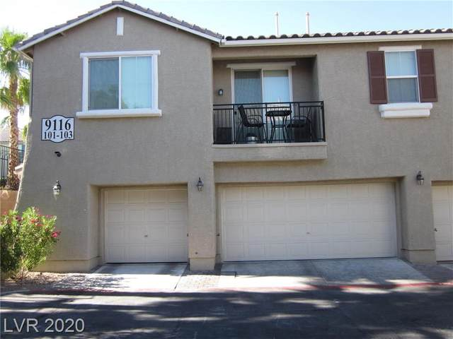 9116 Dancing Snow #101, Las Vegas, NV 89149 (MLS #2183948) :: The Shear Team
