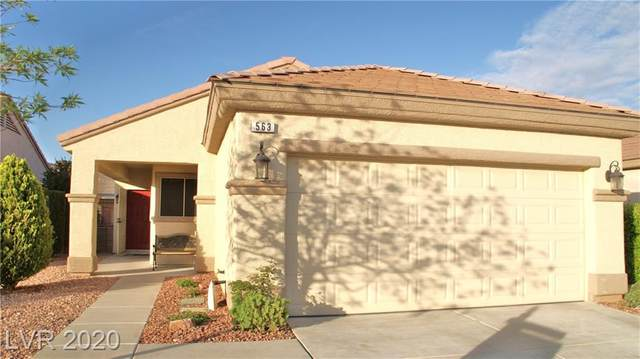 563 Eagle Perch Drive, Henderson, NV 89012 (MLS #2186939) :: Brantley Christianson Real Estate