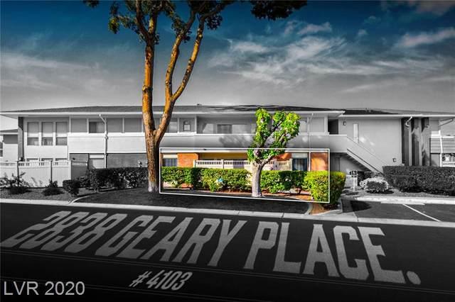 2838 Geary Place #4013, Las Vegas, NV 89109 (MLS #2190461) :: Helen Riley Group | Simply Vegas