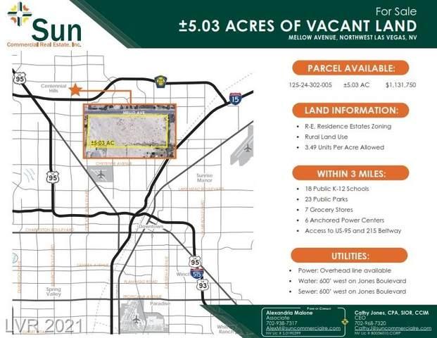 Mellow Ave, Las Vegas, NV 89131 (MLS #2191261) :: Custom Fit Real Estate Group