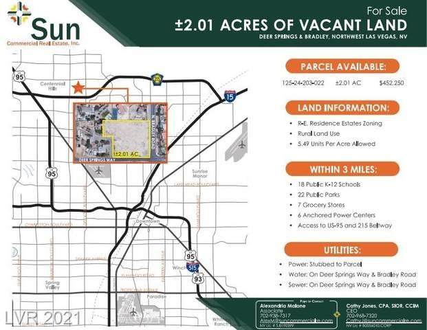 Bradley - Deer Springs, Las Vegas, NV 89131 (MLS #2191876) :: Custom Fit Real Estate Group