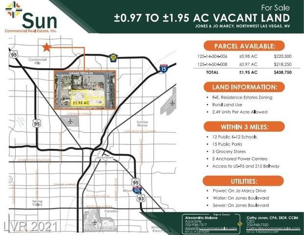 Jones And Jo Marcy, Las Vegas, NV 89131 (MLS #2191886) :: Custom Fit Real Estate Group