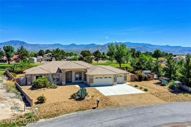 3091 Pebble Beach, Pahrump, NV 89048 (MLS #2192639) :: Signature Real Estate Group