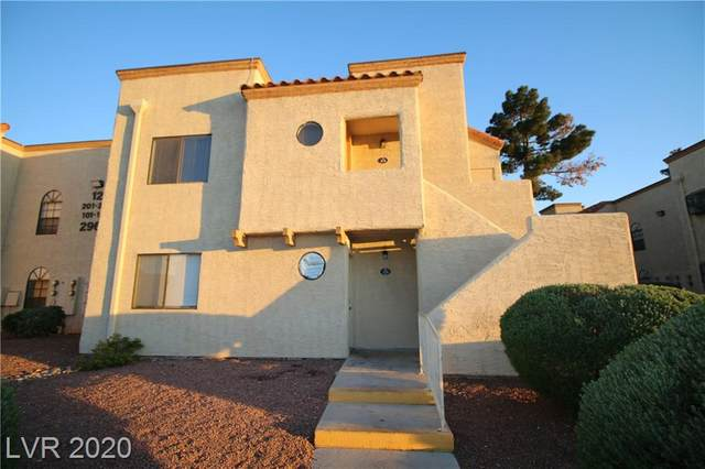 2965 Juniper Hills #201, Las Vegas, NV 89142 (MLS #2194072) :: The Shear Team