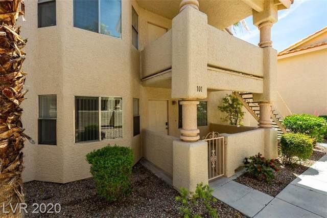 909 Red Boulder #101, Las Vegas, NV 89128 (MLS #2194647) :: Billy OKeefe   Berkshire Hathaway HomeServices