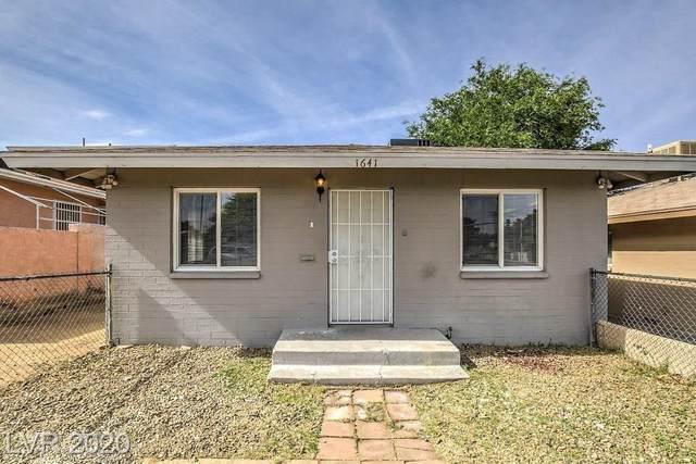 1641 Stewart, Las Vegas, NV 89101 (MLS #2206183) :: Signature Real Estate Group