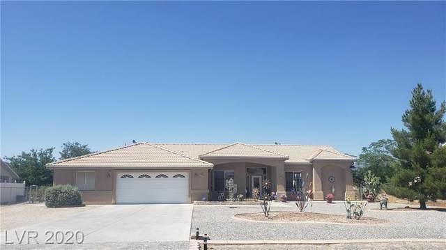 1400 Mount Charleston Drive, Pahrump, NV 89048 (MLS #2206667) :: Signature Real Estate Group