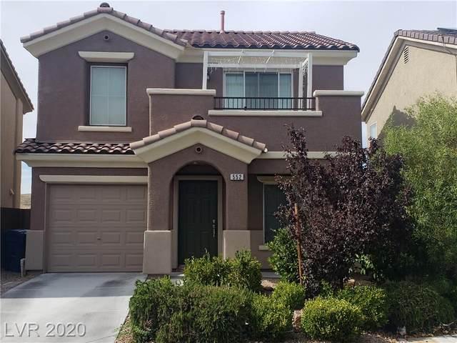 552 Beckton Park Avenue, Las Vegas, NV 89178 (MLS #2206963) :: Jeffrey Sabel