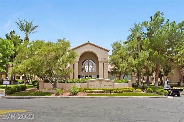 5415 W Harmon Avenue #1147, Las Vegas, NV 89103 (MLS #2208349) :: The Shear Team