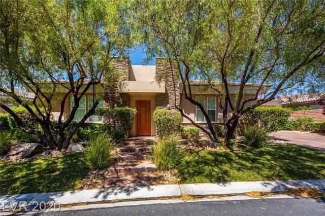 25 Cross Ridge Street, Las Vegas, NV 89135 (MLS #2209052) :: The Lindstrom Group
