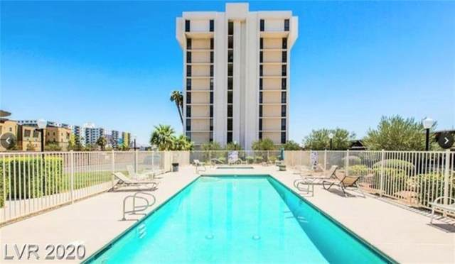 3930 University Center Drive #307, Las Vegas, NV 89119 (MLS #2217055) :: The Lindstrom Group