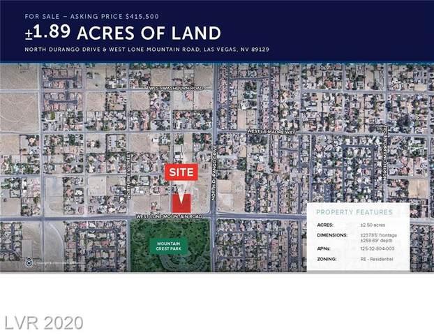 0 Lone Mountain, Las Vegas, NV 89149 (MLS #2221149) :: The Perna Group