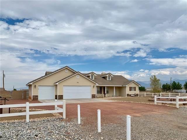 40 E Jaybird Street, Pahrump, NV 89048 (MLS #2221458) :: Billy OKeefe | Berkshire Hathaway HomeServices